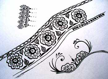 Sally Doodles Face Painting And Body Art Henna Design Examples