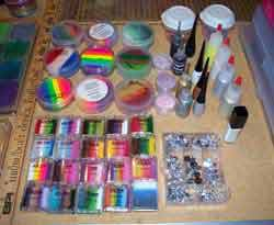 sallydoodles face painting tools